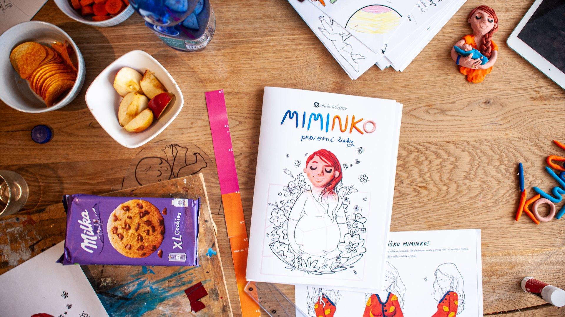 Předprodej Pracovních listů MIMINKO!