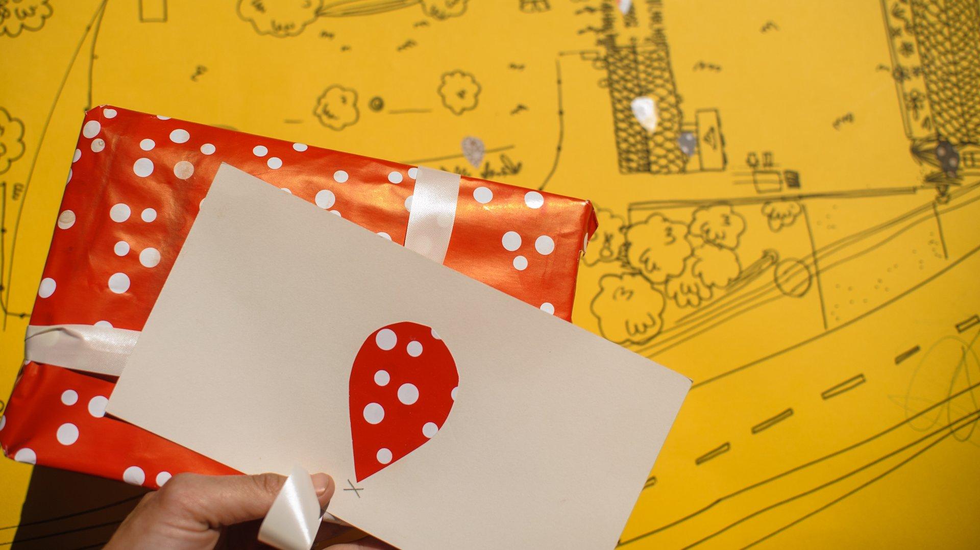 Netradiční darování dárků